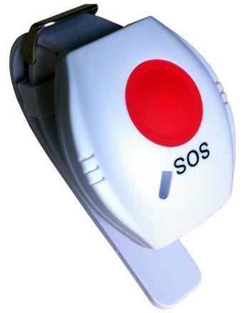 Nouzové SOS tlačítko pro GSM alarm - náramek
