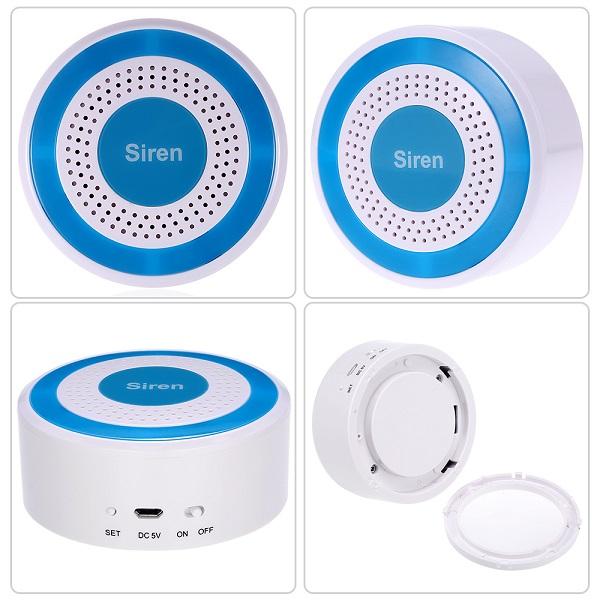 Bezdrátová siréna interní pro GSM alarm (nebo autonomní) typ HG-S03