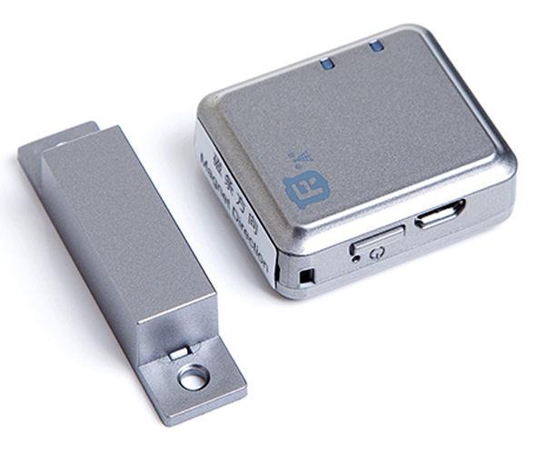 GSM minialarm V13 s lokalizátorem polohy, otřesové čidlo,