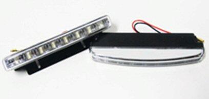 LED diodová poziční světla 8 LED, homologace,  typ HL-806