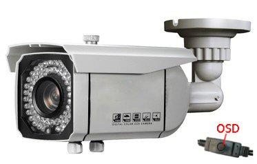 Kamera  barevná 700TVL s IR přisvícením 50m a variobjektivem BOLE-B232 Super Hires