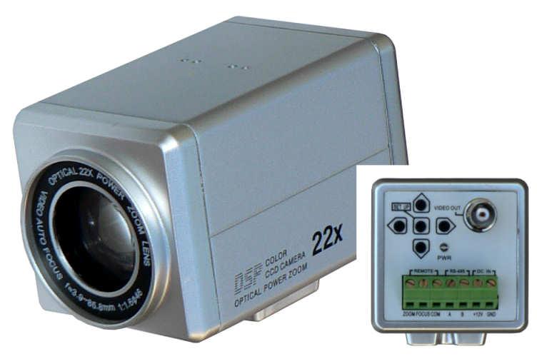 Kamera barevná vnitřní  540TVL Hutermann  BOX-B134