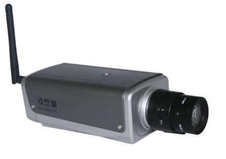 IP kamera bezdrátová H501-MPC, megapixel, H-264, SD, WiFi