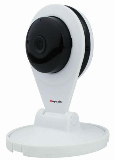 IP kamera bezdrátová 1Mpix Apexis AH4105BW, 1280x720, H.264,  WiFi, P2P, megapixel