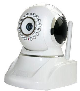 IP kamera bezdrátová  Apexis APM-JP8035-WS-P2P, 640x480, M-JPEG, audio, PTZ natáčení, WiFi, otočná natáčecí otáčení