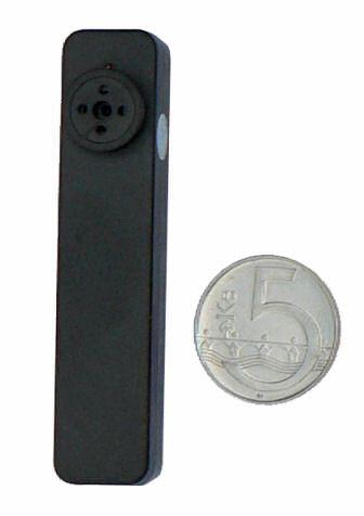 Skrytá kamera v knoflíku Knoflíková mikrokamera  / špionážní minikamera se záznamem, 4GB paměti - kamera SPY 5150