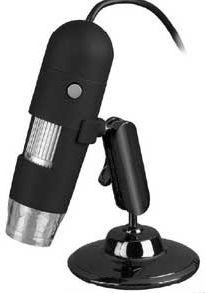 HMI-05U USB mikroskop 500x digitální kamera 2Mpix přisvětlení, PC, Android