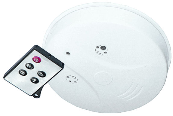 Skrytá kamera v požárním hlásiči s dálkovým ovládáním SPY-CAM 5677