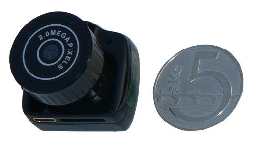 Skrytá mikrokamera se záznamem SPY-CAM 5680