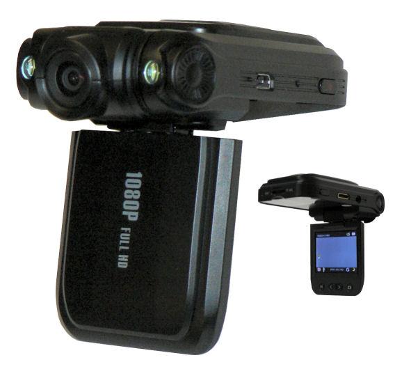 FULL HD palubní kamera do auta H-264 černá skříňka s LCD displejem- HDVR-5954-HD