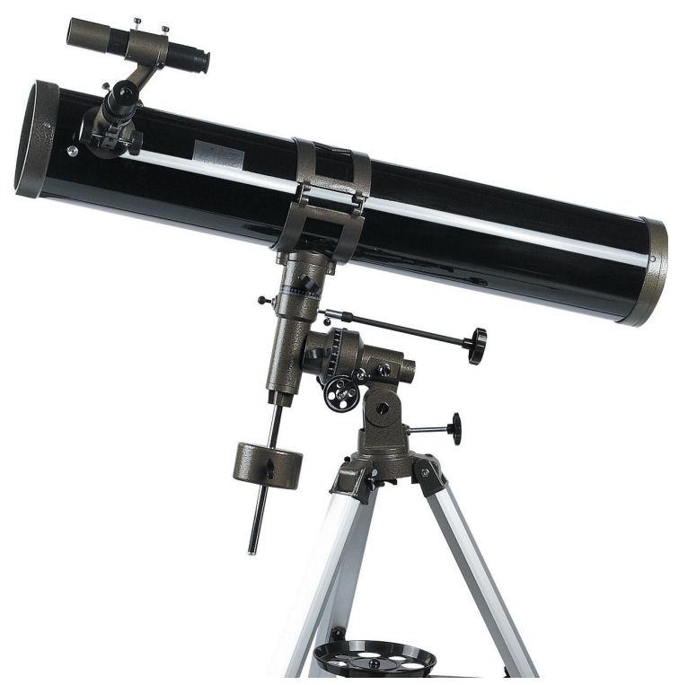 Hvězdářský dalekohled zrcadlový Hutermann HT-900114EQ teleskop 114x900