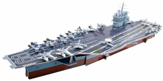 3D puzzle skládačka letadlová loď  Nimitz