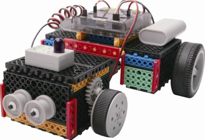 Robotická stavebnice E-robo HUNA Class2- programovatelná