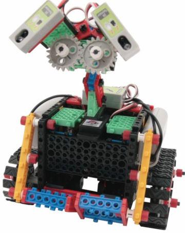 Robotická stavebnice E-robo HUNA Class3- programovatelná