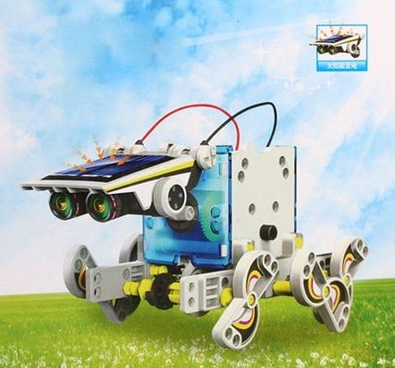 Solar toy 14 in 1