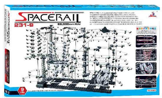 SpaceRail: Level 9 - kuličková dráha