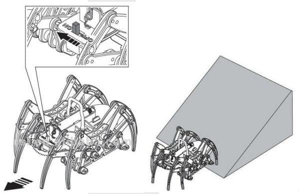 Robotický pavouk