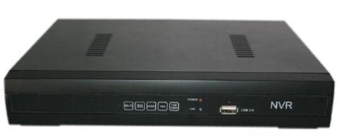 Digitální NVR rekordér pro 4 IP kamery, H.264-MJPEG, tiché provedení APEXIS NVR-1004