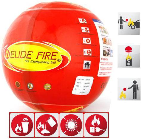 Hasící koule ELIDE FIRE BALL Hutermann, automatické hasící zařízení