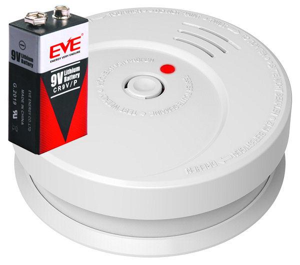 Požární hlásič a detektor kouře GS506 alarm  EN14604, včetně baterie s životností 10let