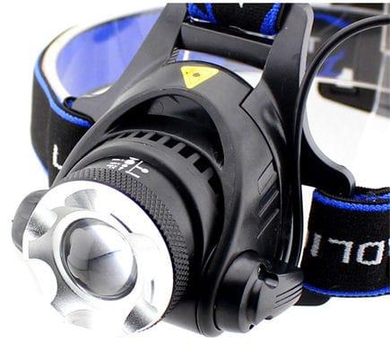 LED čelovka T6