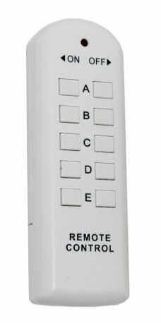 Dálkově ovládaná zásuvka  RS05 (ovladač)