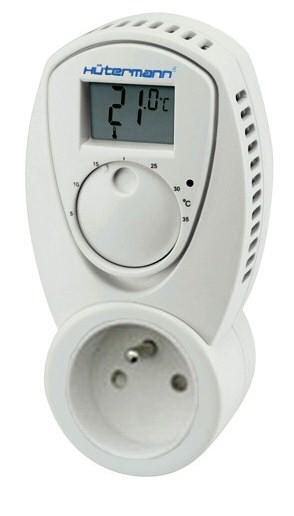 TZ33 zásuvkový elektronický termostat pro koupelnový radiátor (do zásuvky)