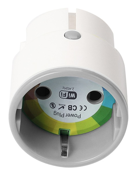 Hütermann SW02 dálkově ovládaná WiFi zásuvka s časovačem a měřením spotřeby